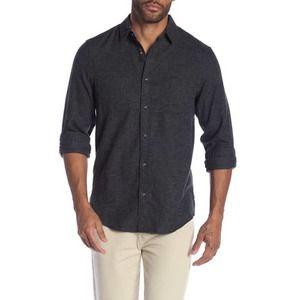 Wallin & Bros Mens Grindle Flannel Button Shirt M